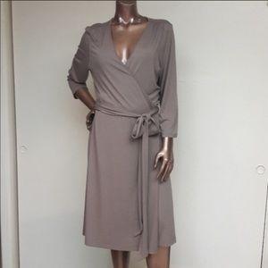 Banana Republic wrap dress size XL